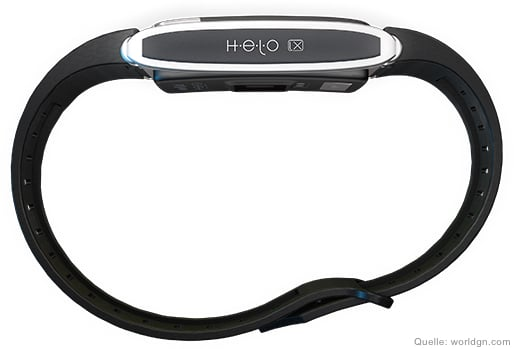 world global network helo lx fitness band uhr