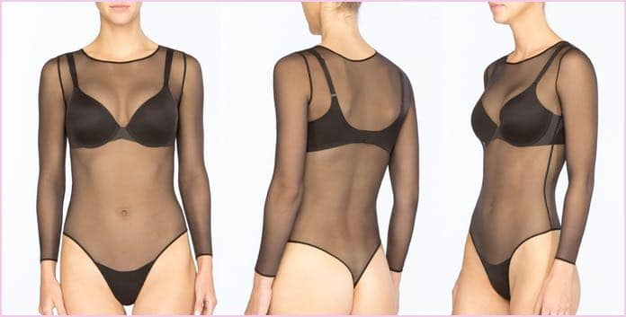 bodyshaper bodyformer transparent