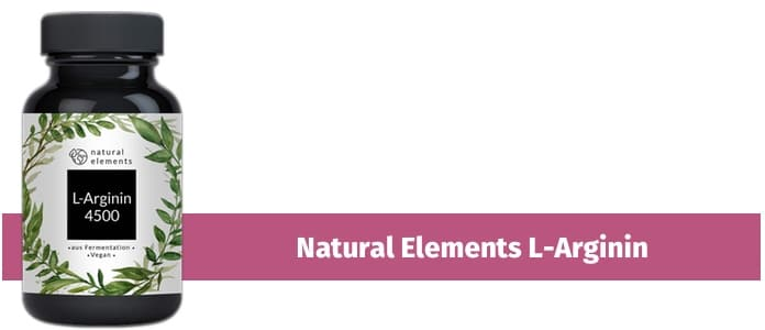 natural element l-arginin
