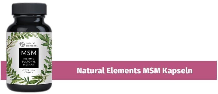natural element msm kapseln