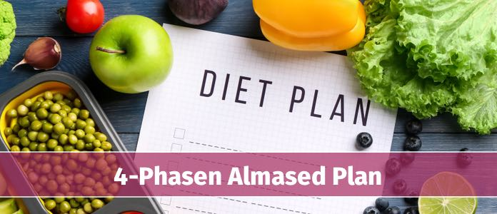 almased 4 phasen diät plan