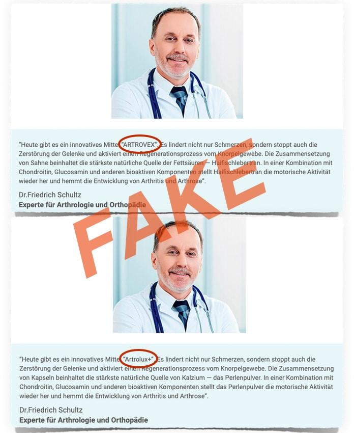 Artrolux Experte Fake