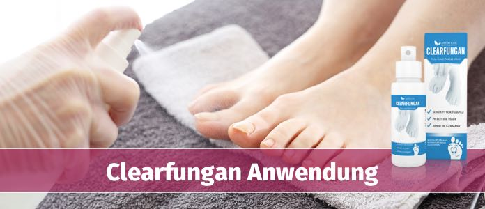 clearfungan spray anwendung