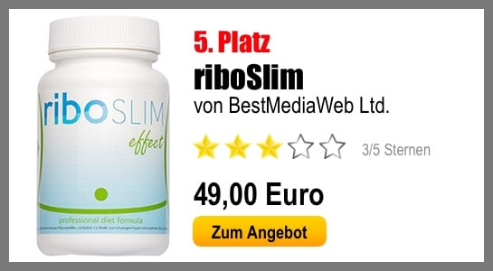 fatburner test platz 5 riboslim