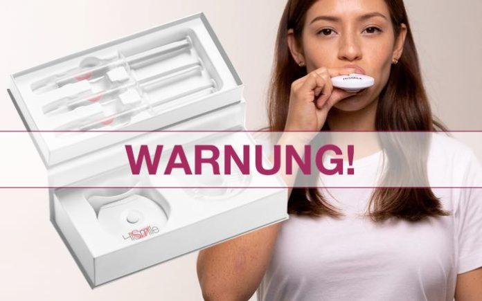 hismile kit zahnaufhellung bleaching ungesund gefährlich
