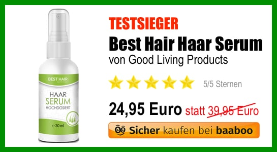 Best Hair Haar Serum Testsieger (EB)