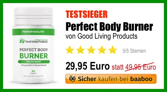 Fatburner Platz 1 Perfect Body Burner (EB)