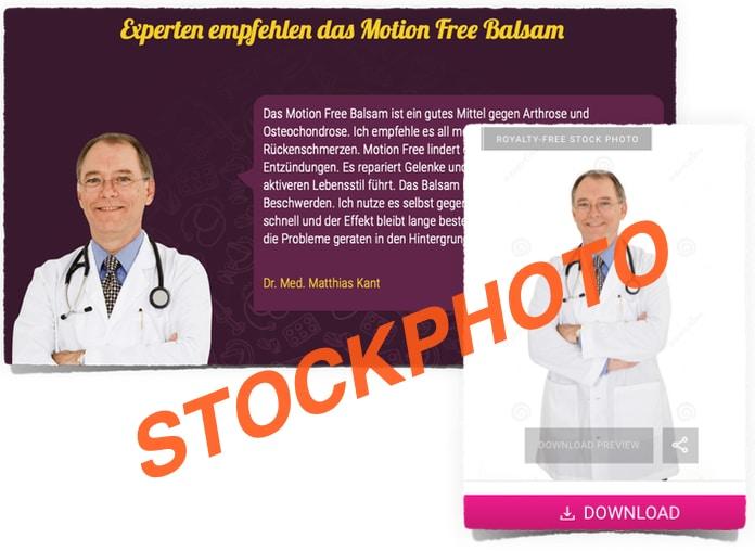 Motion Free Arzt Fake