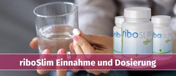 riboslim einnahme dosierung