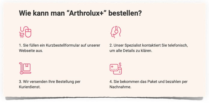 Artrolux bestellen