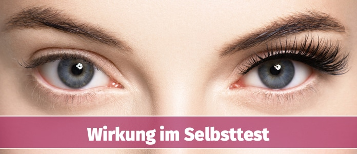 Dr Massing Long Lashes Wirkung im Test
