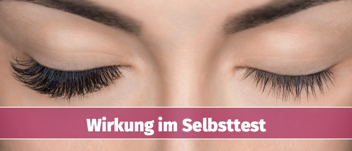 M2 Lashes Wirkung im Check