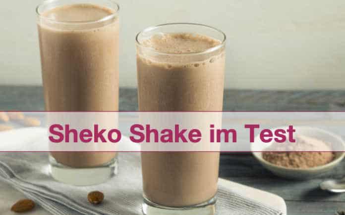 Sheko Shake Trinkmahlzeit