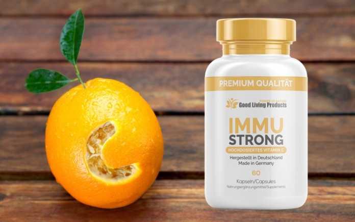 immustrong vitamin c kapseln