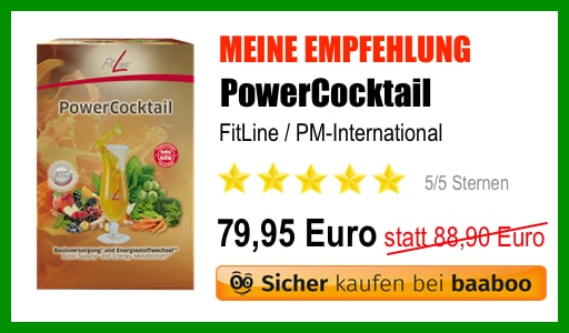 FitLine PowerCocktail Empfehlung (EB)