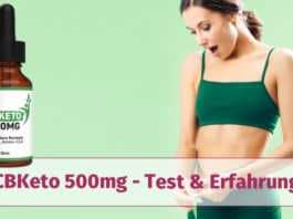 cbketo 500mg tropfen test erfahrung wirkung
